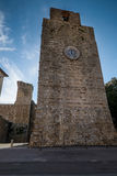 Massa Marittima, Tuscany, medieval town in Italy Royalty Free Stock Images