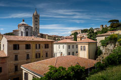 Massa Marittima, Tuscany, medieval town in Italy, the Cathedral Stock Photo