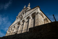 Massa Marittima, Tuscany, medieval town in Italy, the Cathedral Royalty Free Stock Photos