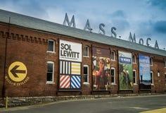 Massa MoCa - Museum van Eigentijds Art. Royalty-vrije Stock Foto's