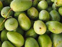 Massa verde tailandese del mango per vendita Fotografia Stock Libera da Diritti