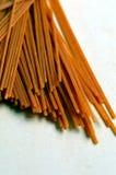 Massa Wholegrain soletrada (espaguetes) Foto de Stock