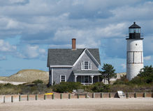Massachusetts Beachhouse Zdjęcia Stock