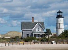 Massachusetts Beachhouse stock photos