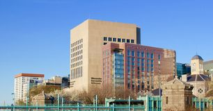 Massachusetts General Hospital and liberty hotel Royalty Free Stock Photography