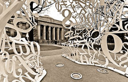 Massachusetts Institute of Technology lizenzfreies stockfoto