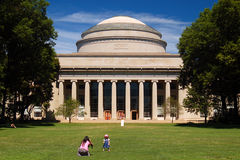 Massachusetts Institute of technology. The Great Dome is an iconic building at the  Massachusetts Institute of Technology Stock Photo
