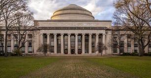 Massachusetts Institute of Technology. The main building og the MIT, Massachusetts Institute of Technology, in Cambridge, Massachusetts, USA Stock Photo