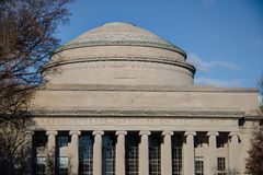 Massachusetts Institute of Technology MIT-kupol - Cambridge, Massachusetts, USA arkivbild