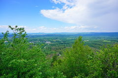 Massachusetts landscape. At Mount Holyoke Range State Park. Mount Holyoke Range State Park is a state-owned, public recreation area encompassing the eastern Royalty Free Stock Photography