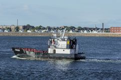 Massachusetts Maritime Academy training vessel Ranger royalty free stock images
