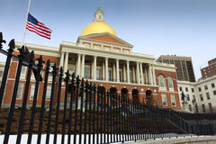 Massachusetts State House Stock Photography