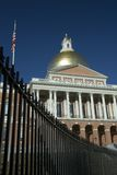 Massachusetts State House. Unusual angle on the Massachusetts State House Royalty Free Stock Image