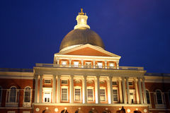 Massachusetts State House royalty free stock photography