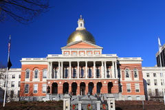 The Massachusetts State House Royalty Free Stock Photography