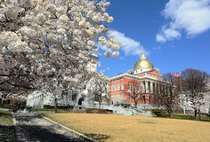 Massachusetts State House Stock Images