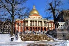 Massachusetts State House. Boston Royalty Free Stock Images