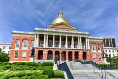 Massachusetts State House in Boston Royalty Free Stock Photo