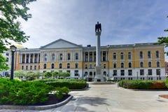 Massachusetts State House in Boston Stock Images