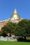 Massachusetts State House, Boston Stock Image