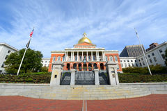 Massachusetts State House, Boston Stock Photography