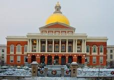 Massachusetts State House in Boston. MA. USA. Massachusetts State House in Boston, MA. USA royalty free stock photo