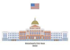 Massachusetts State House, Boston Royalty Free Stock Images