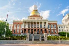 Massachusetts State House. Boston, USA royalty free stock photo