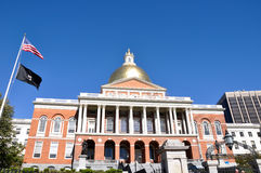 The Massachusetts State House, Boston, USA Royalty Free Stock Images