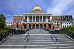 Massachusetts State House, Boston, USA Stock Photos