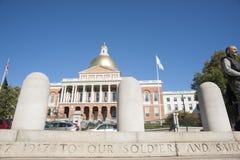 Massachusetts State House Stock Images
