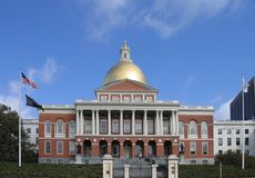 Massachusetts State House Royalty Free Stock Image