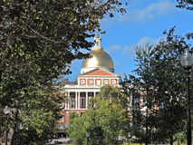 Massachusetts State House Royalty Free Stock Photos