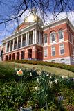 Massachusetts State House Stock Image