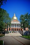 Massachussets state house Stock Image