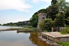 Massaciuccoli湖  免版税库存照片