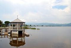 Massaciuccoli湖  免版税图库摄影