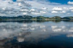 Massaciuccoli lake, Torre del Lago, Tuscany Italy royalty free stock photo
