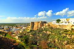 Massafra in Apulia, Italy. Massafra town in Apulia, Italy Stock Images