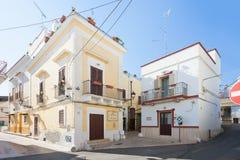 Massafra, Apulien - 31. MAI 2017 - ein traditionelles Gebäude in lizenzfreies stockbild