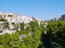 Massafra en Italia Imágenes de archivo libres de regalías