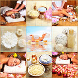 Massaga della stazione termale. Fotografie Stock Libere da Diritti