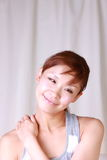 Massage  do ombro Imagens de Stock