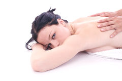 Massage. Treatment Royalty Free Stock Image