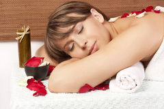 Massage stock photography