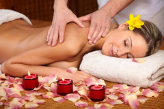 Massage stock foto