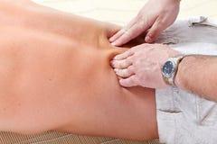 massage arkivfoton