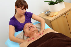 Massage stock image