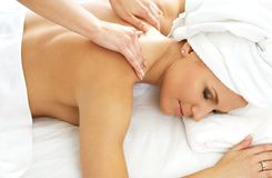 Massage #2 Royalty Free Stock Image