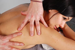 Massage #22 Stock Images